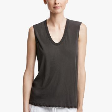 James Perse Glass Cotton Tank