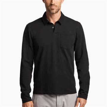 James Perse Jersey Pocket Polo