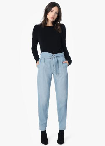 The Paperbag High Rise Trouser