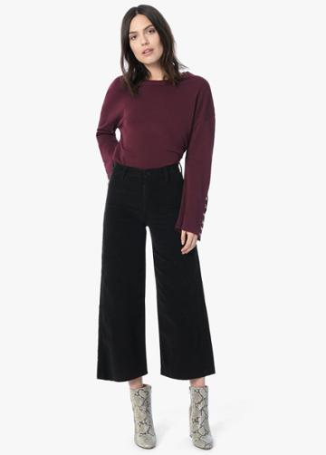 Luxe Corduroy - The Crop Flare