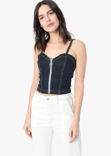 The Zip Front Corset