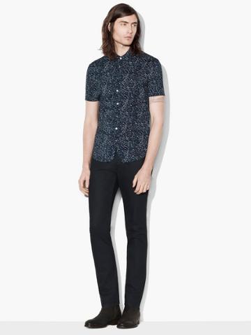 John Varvatos Short Sleeve Sport Shirt