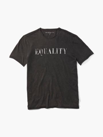 John Varvatos Equality Tee Black Size: S