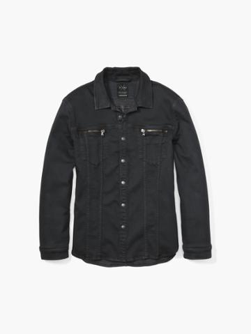 John Varvatos Nick Jonas Outerwear Dark Grey Size: Xs