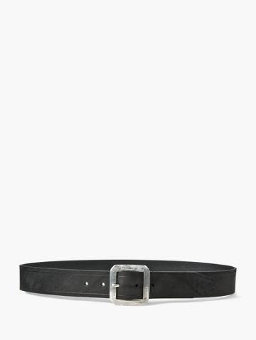 John Varvatos Flat Strap Belt  Size: 34