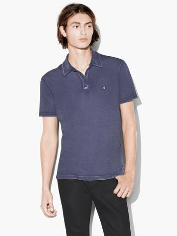 John Varvatos Soft Collar Peace Polo  Size: S