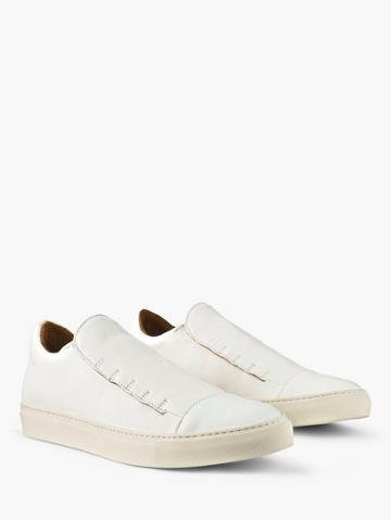 John Varvatos Reed Laceless Low Top Sneaker  Size: 7