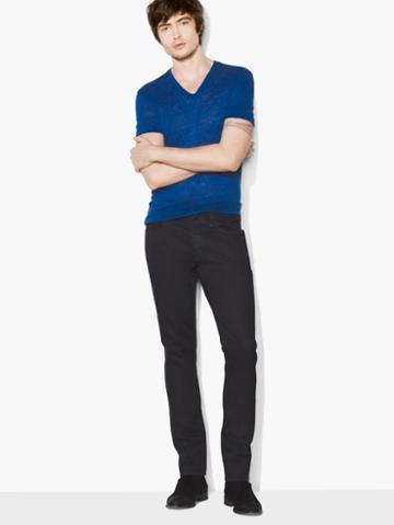 John Varvatos Chelsea Fit Jean Midnight Size: 29 Rg