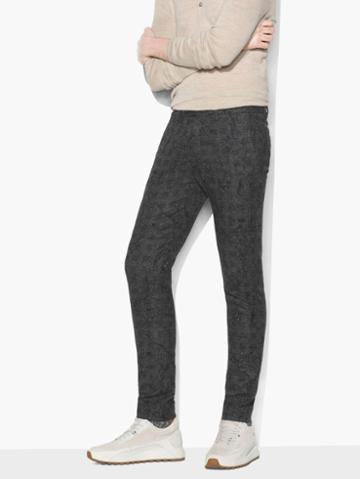 John Varvatos Abstract Jacquard Pant Black Size: 46