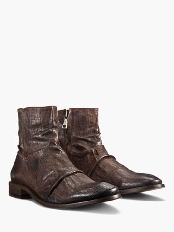 John Varvatos Morrison Sharpei Boot Brown Size: 8.5
