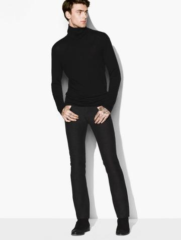 John Varvatos Cashmere Turtleneck Sweater