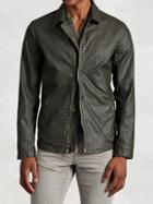 John Varvatos Cotton Zip Jacket