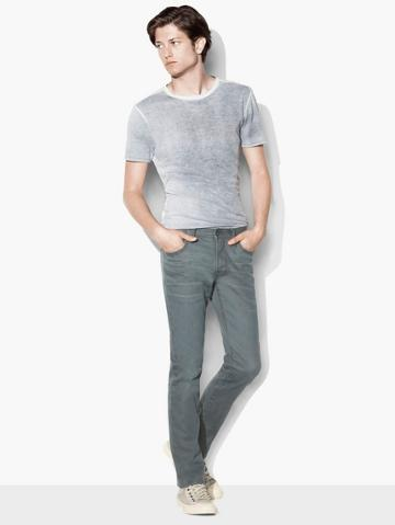 John Varvatos Bowery Coated Stretch Jean