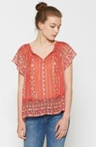Joie Arevig Silk Top