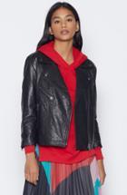 Joie Kameke Leather Jacket