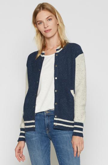 Joie Blakesley Letterman Jacket
