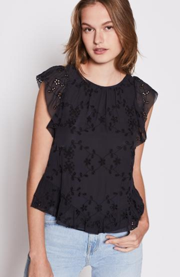 Joie Candida Lace Top