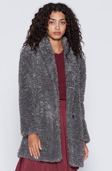 Joie Kavasia Faux Fur Jacket