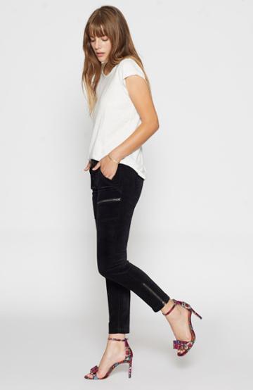 Joie Park Skinny Velvet Pant