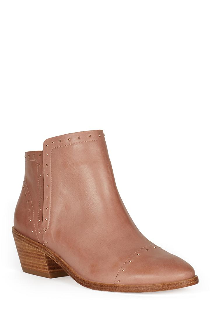 Joie Jacobean Leather Booties