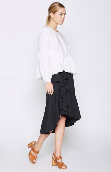 Joie Chesmu Poplin Skirt