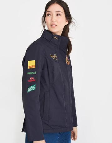 Joules Clothing Us Joules Mary King Jacket - Marine Navy