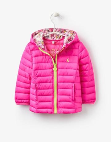 Joules Clothing Us Joules Kinnaird Padded Jacket - True Pink