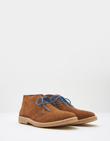 Joules Clothing Us Joules Mensdesert Men%27s Desert Boots - Rust