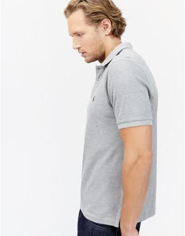 Joules Clothing Us Joules Maxwell Polo Shirt - Grey Marl