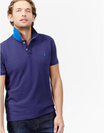 Joules Clothing Us Joules Maxwell Polo Shirt - Ink Blue