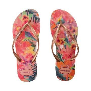Womens Havaianas Slim Tropical Ballet Rose Sandal