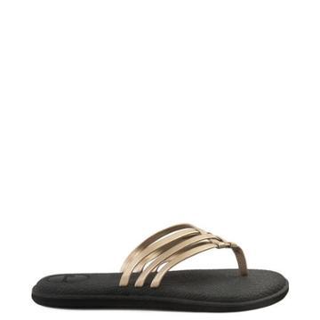 Womens Sanuk Yoga Salty Metallic Sandal