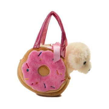 Yummy Donut Dog Plush Handbag