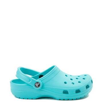 Womens Crocs Classic Clog In Turquoise