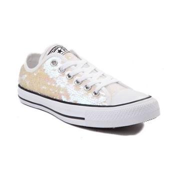 Womens Converse Chuck Taylor All Star Lo Sequin Sneaker