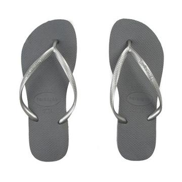 Womens Havaianas Slim Metallic Sandal