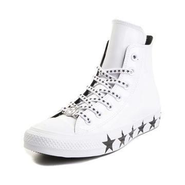 Womens Converse X Miley Cyrus Chuck Taylor All Star Hi Patent Sneaker