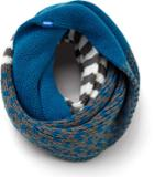 Keds Multi Pattern Infinity Scarf Blue Sapphire