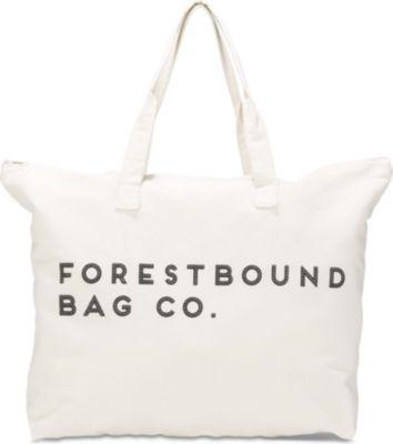 Keds Forestbound Canvas Tote Bag Cream, Size One Size