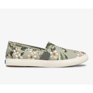 Keds Clipper Tropical Sage Multi, Size 8.5m Women Inchess Shoes
