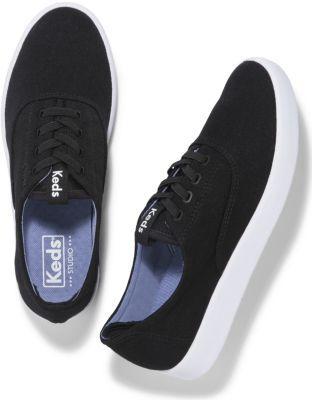 Keds Studio Leap Black, Size 6m Women Inchess Shoes