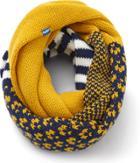Keds Multi Pattern Infinity Scarf Golden Yellow