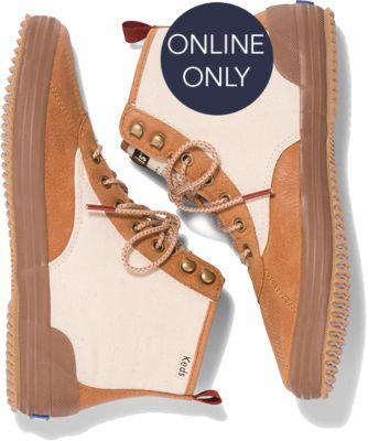 Keds X Forestbound Scout Boot Natural, Size 5m Women Inchess Shoes