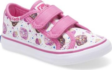 Keds Glittery Hook & Loop Sneaker Cupcake, Size M Keds Shoes