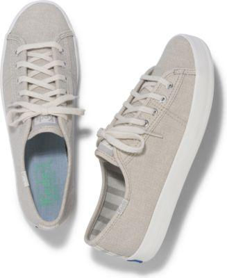 Keds Kickstart Mini Brights Lt Gray, Size 5m Women Inchess Shoes