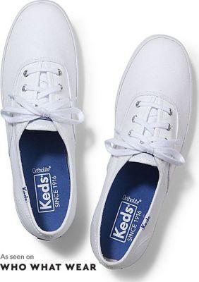 Keds Champion Originals White, Size 5xw Women Inchess Shoes