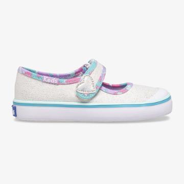 Keds Harper White/multi, Size 4.5m Keds Shoes