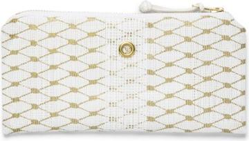 Keds Alaina Marie Wallet White And Gold, Size One Size