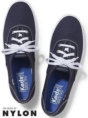 Keds Champion Originals Navy, Size 4.5m Women Inchess Shoes