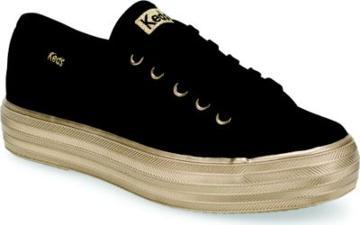 Keds Triple Kick Sneaker Black/gold, Size M Keds Shoes